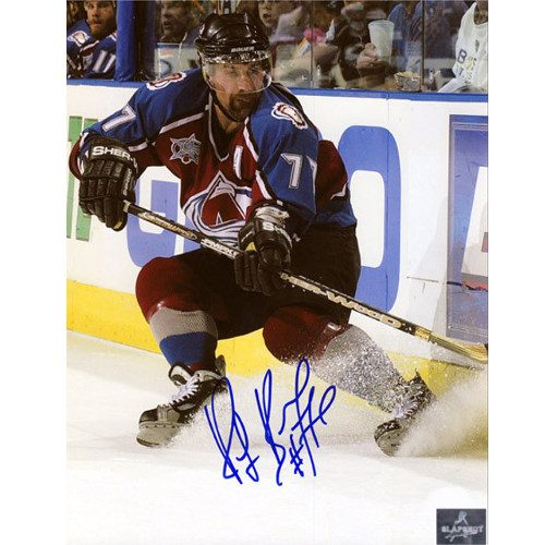 Ray Bourque Signed Photo Colorado Avalanche 8x10