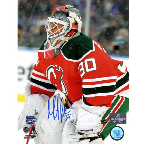 Martin Brodeur Autographed Picture New Jersey Devils Stadium Series