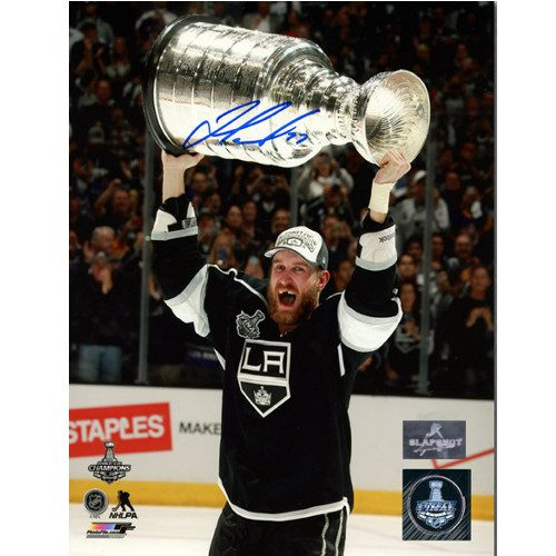 Jeff Carter Los Angeles Kings Autographed 2014 Stanley Cup 8x10 Photo