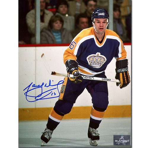 Marcel Dionne LA Kings Signed Game Action 8x10 Photo