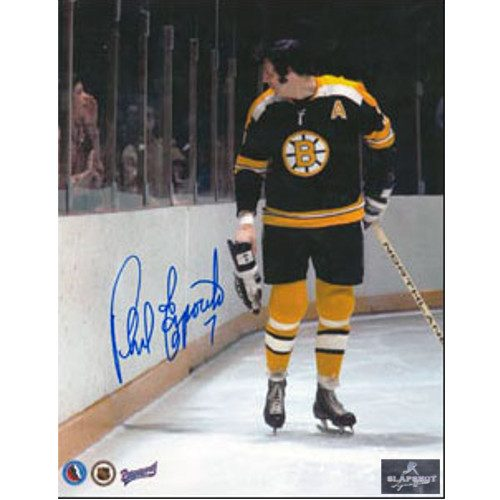 Phil Esposito Boston Bruins Heckler Signed 8x10 Photo