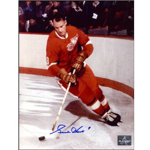 Gordie Howe Autographed Photo Detroit Red Wings 8x10 Photo