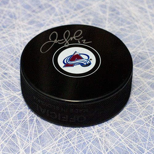 Jarome Iginla Signed Puck-Colorado Avalanche