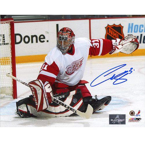 Curtis Joseph Detroit Red Wings CUJO Goalie Signed 8x10 Photo