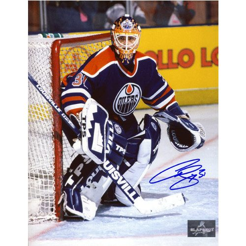 Curtis Joseph Edmonton Oilers Goalie Signed 8x10 Photo