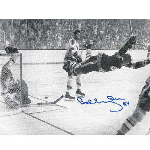 "Bobby Orr Signed Photo ""The Goal"" 8X10 Photo"