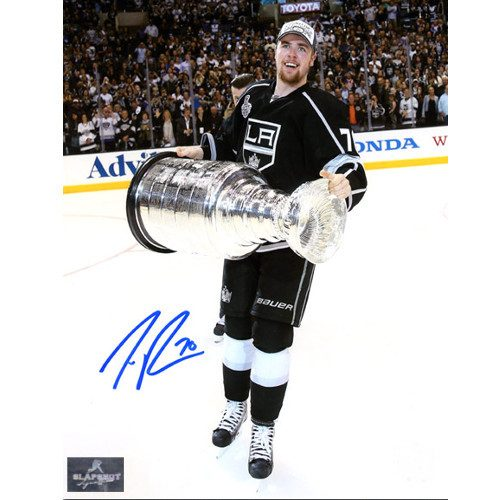 Tanner Pearson Kings Stanley Cup Autographed Photo 8x10