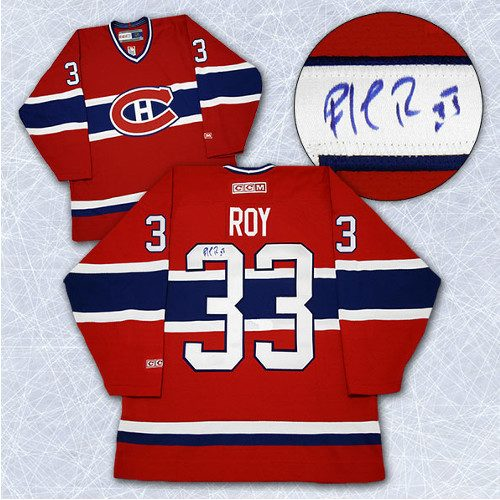 Patrick Roy Autographed Montreal Jersey