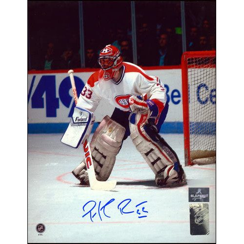 Patrick Roy Photos-Montreal In Goal at Forum Signed 8x10