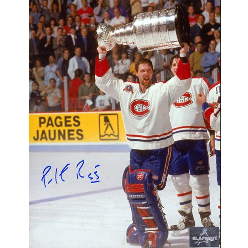 Patrick Roy 1993 Stanley Cup Montreal Canadiens Signed 8x10 Photo