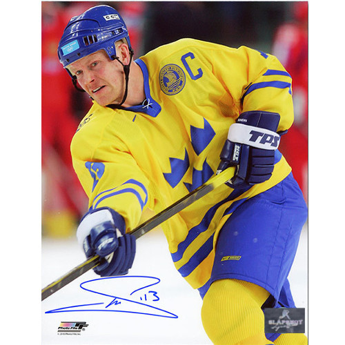 Mats Sundin Olympics 2006 Team Sweden Signed 8x10 Photo