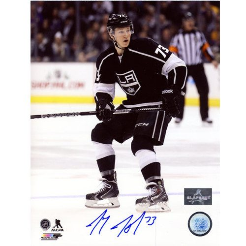 Tyler Toffoli LA Kings Signed Game Action 8x10 Photo