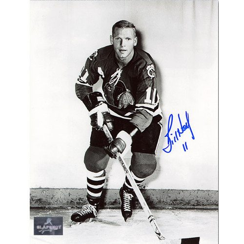 Bill Hay Chicago Blackhawks Signed 8x10 Photo