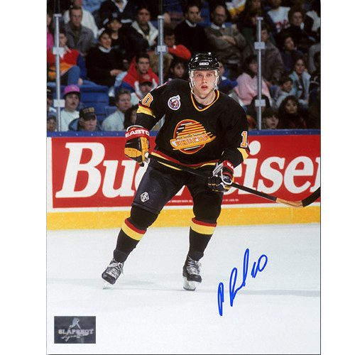 Pavel Bure Vancouver Canucks Autographed Game Action 8x10 Photo