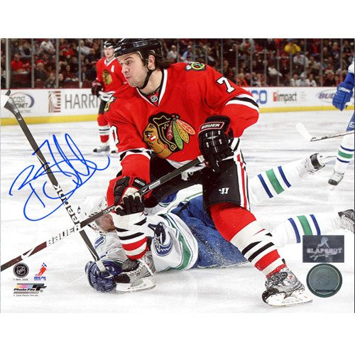 Brent Seabrook Autographed Picture Chicago Blackhawks 8x10