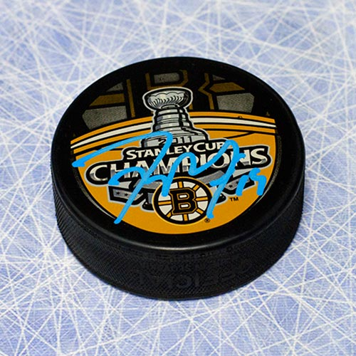 Tyler Seguin Stanley Cup Puck-Signed Boston Bruins