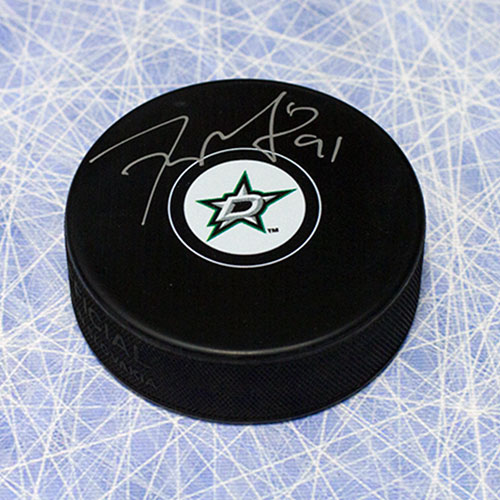 Tyler Seguin Signed Puck - Dallas Stars