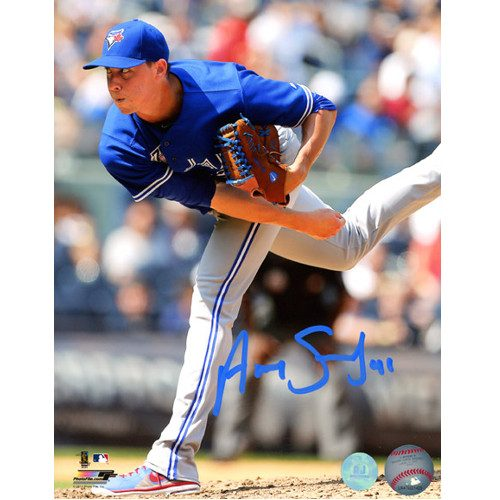 Aaron Sanchez Blue Jays Pitcher Signed 8x10 Photo