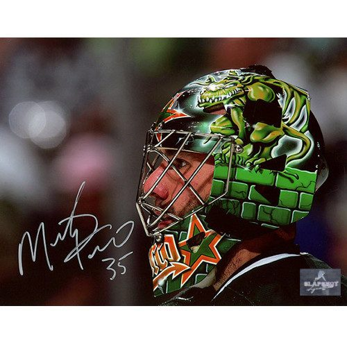 Marty Turco Dallas Stars Signed Photo 8x10