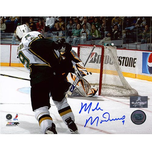 Mike Modano Dallas Stars Autographed 503rd Goal 8X10 Photo