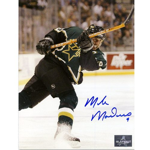 Mike Modano Dallas Stars Autographed 8X10 Photo