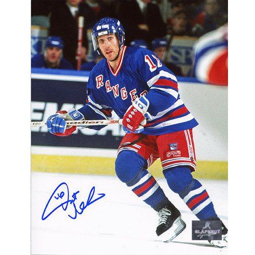 Pat Verbeek New York Rangers Signed 8x10 Photo