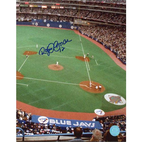 Roberto Alomar Toronto Blue Jays World Series Signed 8x10 Photo