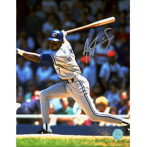 Tony Fernandez Baseball Photo-Toronto Blue Jays Signed 8x10
