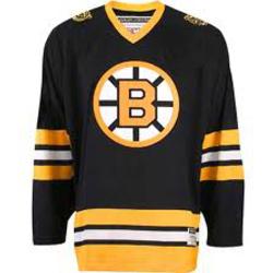 boston bruins vintage hockey jersey