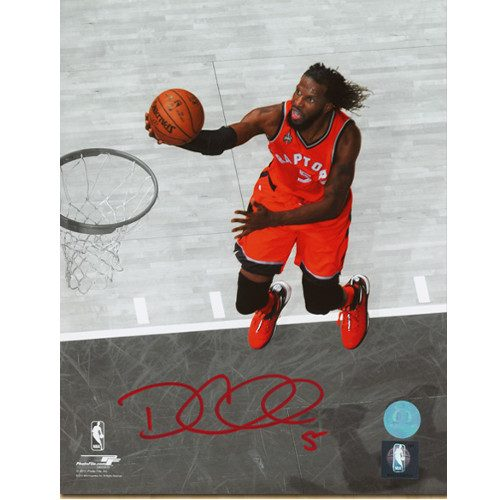 DeMarre Carroll Toronto Raptors Signed 8x10 Photo