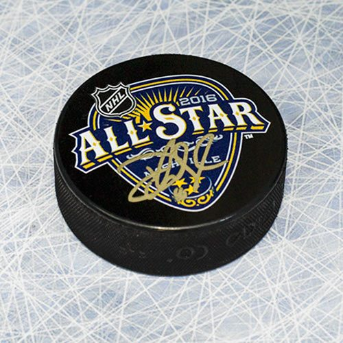 Devan Dubnyk All Star 2016 Minnesota Wild Signed Puck