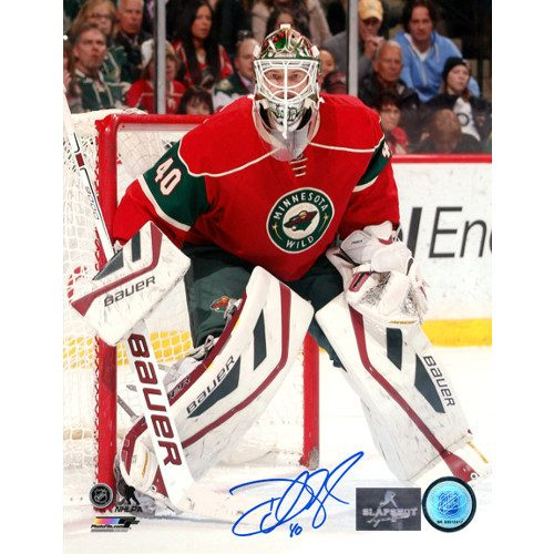 Devan Dubnyk Goalie Photo 8x10 Signed Minnesota Wild