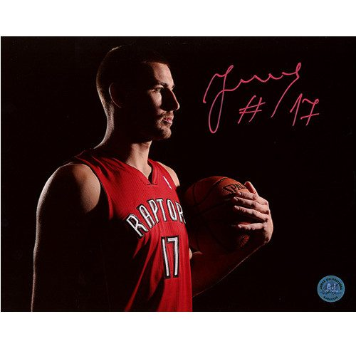 Jonas Valanciunas Raptors Spotlight Signed 8x10 Photo