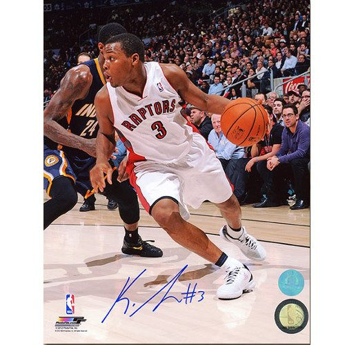Kyle Lowry Toronto Raptors Signed 8x10 Photo