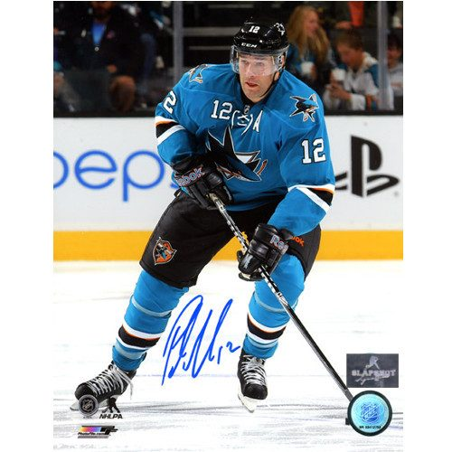 Patrick Marleau San Jose Sharks Autographed 8X10 Photo