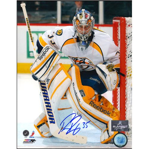 Pekka Rinne Nashville Predators Autographed 8X10 Goalie Photo