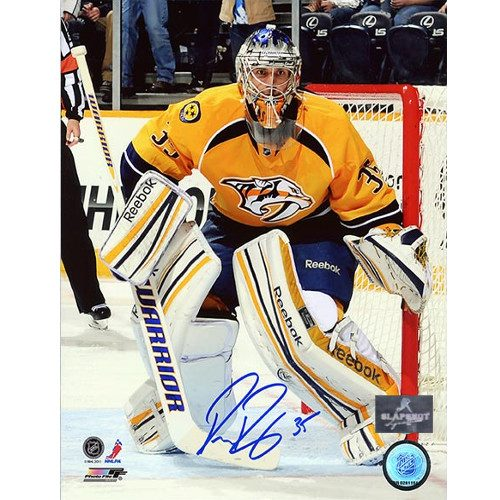 Pekka Rinne Nashville Predators Autographed 8X10 Photo