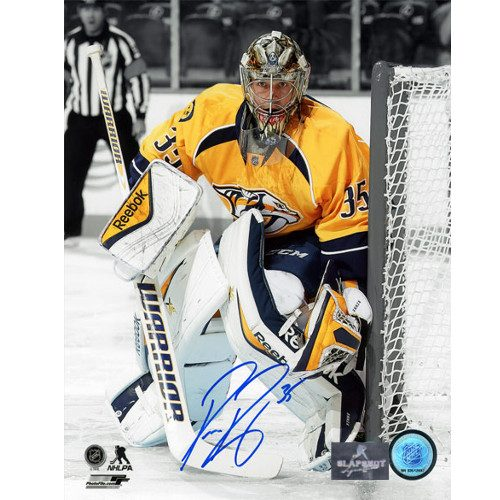 Pekka Rinne Nashville Predators Autographed 8X10 Spotlight Photo