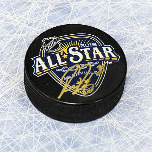 Pekka Rinne All Star Game Signed Puck