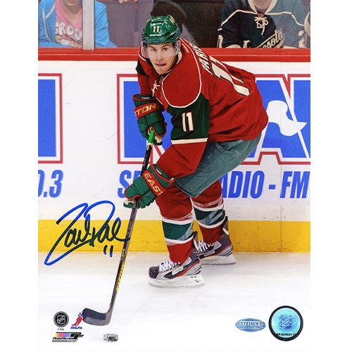 Zach Parise Minnesota Wild Signed 8x10 Photo