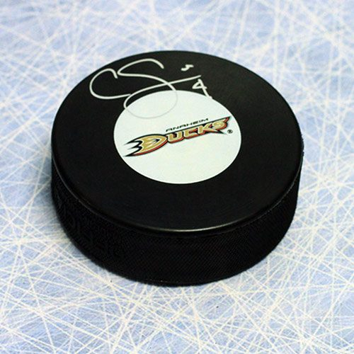 Cam Fowler Signed Puck Anaheim Ducks