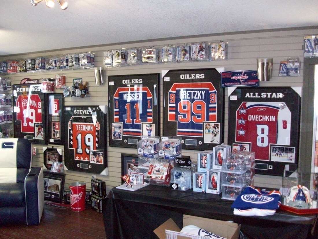 hockey memorabilia collection