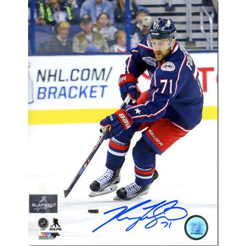 Nick Foligno Columbus Blue Jackets Signed 8x10 Photo