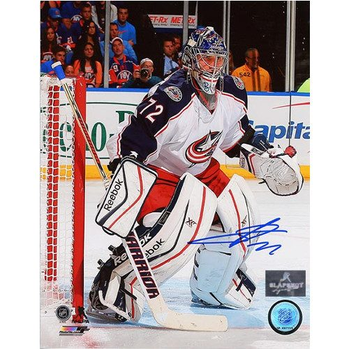 Sergei Bobrovsky Goalie Photo Signed 8x10-Columbus Blue Jackets