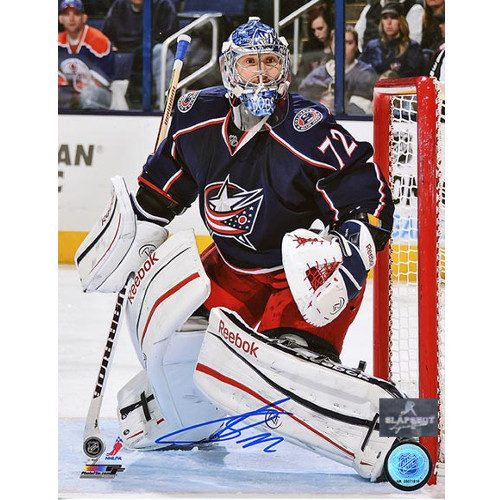 Sergei Bobrovsky Columbus Blue Jackets Signed 8x10 Photo