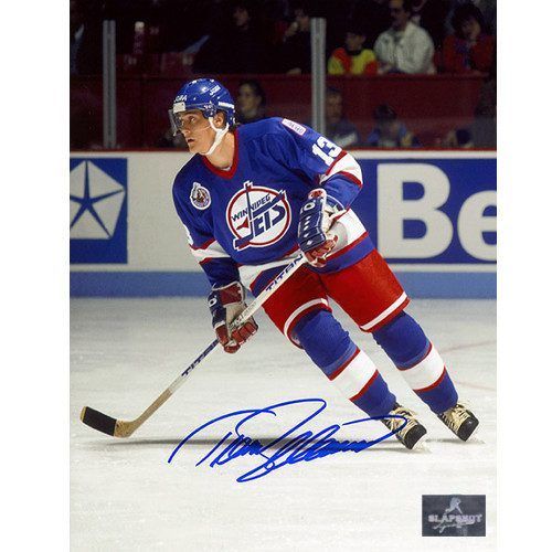 Teemu Selanne Winnipeg Jets Signed 8X10 Action Photo