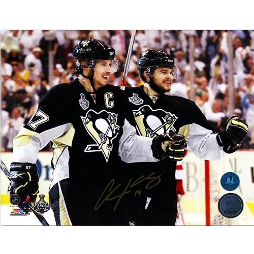 Chris Kunitz Stanley Cup Finals Signed Photo 8x10 w/Crosby