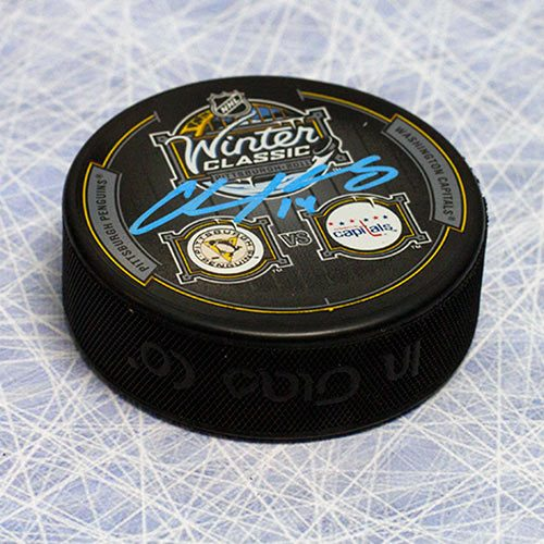 Chris Kunitz Winter Classic Penguins Signed Hockey Puck