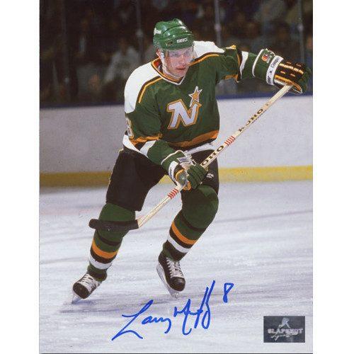 Larry Murphy Minnesota North Stars Signed 8X10 Photo