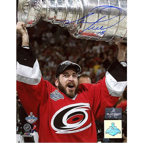 Mark Recchi Carolina Hurricanes Stanley Cup 8x10 Signed Photo